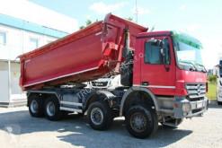 Camion benne Mercedes ACTROS 4141, 8x6, HARDOX, DUMPER, TIRES 80%