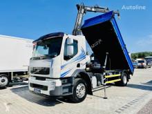 Camion benne Volvo FE FL FH FM 18.280 E5 kiper + kran , 4x2 Super stan !