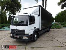 Camion Mercedes ATEGO1224 PLANDEKA WINDA 18 PALET KLIMA WEBASTO TEMPOMAT PNEUMA rideaux coulissants (plsc) occasion