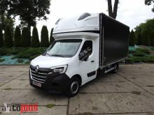 Camion savoyarde Renault MASTERNOWY PLANDEKA 10 PALET KLIMATYZACJA WEBASTO TEMPOMAT PNEU