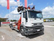 Kamión Iveco Eurotech 260E43 hákový nosič kontajnerov ojazdený