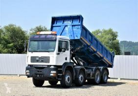 Camión volquete MAN Tga 35.390 Kipper 8x4 + BORDMATIC* Topzustand!
