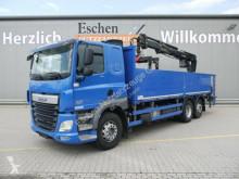 DAF CF 410 FAN 6x2*HIAB 166K Pro*Lenk/Lift*Klima*EU6 truck used dropside