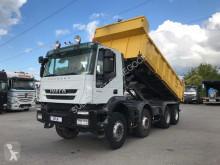 Iveco two-way side tipper truck Trakker 450