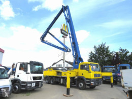 Ciężarówka MAN TG-A 41.400 8x4 BB Betonpumpe 4100h,Deutsch Topzustand pompa do betonu używana