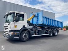 Kamión Scania P 420 hákový nosič kontajnerov ojazdený