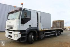 Kamión Iveco Stralis 400 náves na prepravu strojov ojazdený