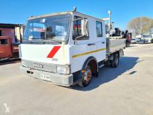 Camion plateau ridelles Fiat 50