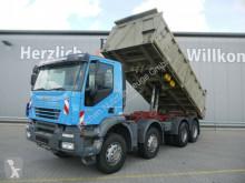 Kamión Iveco AD 380*8x4 Meiller 3-S-Kipper*Klima*Blatt*1.Hand korba trojstranne sklápateľná korba ojazdený