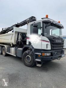 Ciężarówka Scania G 400 wywrotka dwustronny wyładunek używana