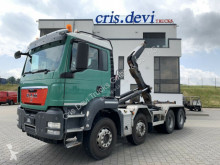 卡车 摆臂式垃圾车 曼恩 TGS 35.480 8x4 Multilift 26T | Intarder AHK
