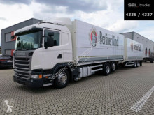 Camion Scania G 410 / Retarder / Lift-Lenkachse / with trailer plateau brasseur occasion