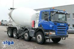 Lastbil betong blandare Scania P P380CB8x4, Liebherr 9m³, Retarder, wenig KM