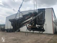 Mercedes auxiliary crane Nur Kran Loglift 120 S+hochfahrbare Kabine+Pumpe