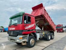 Camion benne Mercedes Actros 3343 K 6x6 Meiller / Retarder 13T Achsen