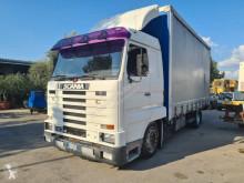 Kamyon tenteli platform Scania 143