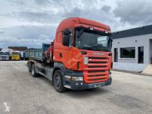 Camión Gancho portacontenedor Scania R 420