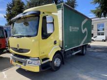 Lastbil Renault Midlum 270 skjutbara ridåer (flexibla skjutbara sidoväggar) begagnad