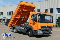 Mercedes 818 K Atego 4x2, Euro 6, Meiller, 3. Sitz, AHK truck used three-way side tipper