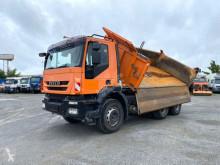 Camion tri-benne Iveco Trakker TRACKER 260T 45 6x4 3-Achs Kipper Schalter, Blatt