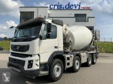 Kamión betonárske zariadenie domiešavač Volvo FMX FMX 460 8x4 Stetter 9 cbm | Wechselsystem