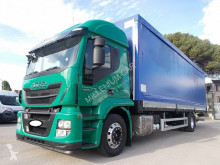 Камион Iveco Stralis 190S40 CENTINATO 9.60 PEDANA EURO 6 шпригли и брезент втора употреба