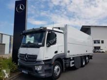 Камион платформа камион за превоз на бира Mercedes Actros 2543 LL 6x2 Getränkekoffer+LBW mehrfach!!