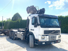 Volvo FM 12 380 SCARRABILE BALESTRATO ANTERIORE E truck used hook lift