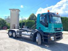 Kamión Iveco Magirus IVECO 260S45 SCARRABILE BALESTRATO 6X2 hákový nosič kontajnerov ojazdený
