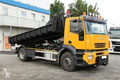 Iveco billenőplató teherautó STRALIS, TACHOGRAPH WHEEL, NEW CONTAINER, TOP