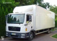 MAN furgon teherautó TGL 12.220 euro 5 kontener 18 palet klapa winda