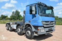Camion polybenne Mercedes Actros Actros 8x4 Meiller 3241 Voith Retarder Klima TÜV