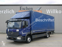 Kamión Mercedes Atego Atego 1223 L*Pritsche*Plane*LBW*Active Brake*LGS valník s bočnicami a plachtou ojazdený