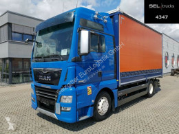 Camión MAN TGX TGX 18.580 4x2 LL /Intarder /D38/Navi/Standklima lona corredera (tautliner) usado