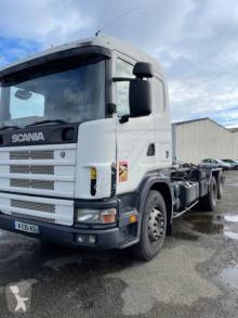 Kamión Scania R 124 hákový nosič kontajnerov ojazdený