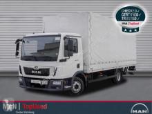 Camião caixa aberta com lona MAN TGL 8.190 BL-PRITSCHE PLANE-AHK-LBW-3SITZE-KLIMA
