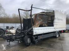Lastbil Mercedes Atego Atego 1224 Pritsche Plane LBW Brandschaden palletransport brugt