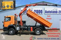 Camión volquete volquete trilateral Mercedes Atego Atego 1823 4x4 Atlas Kran+FB+Winterdienst 1.Hand