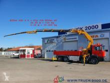 Ciężarówka MAN 32.414 8x4 Effer 600 4S + JIB 60T/M bis 30m Höhe platforma burtowa używana