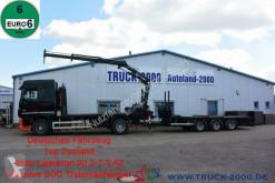 Camión remolque caja abierta estándar DAF XF XF410 Atlas Kran inkl. 3-Achs Anhänger 19 to NL