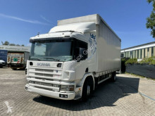 Lastbil flexibla skjutbara sidoväggar Scania CVP 94 DB