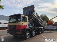 Camión MAN 41.403 Full steel - Big axles - Manual - 6 Cyl - Mech pump volquete usado