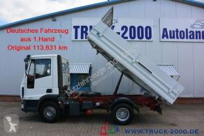 Camión Iveco EuroCargo 80E17 Meiller aus 1.Hd nur 113.631 km volquete volquete trilateral usado
