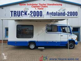 Camper Mercedes Vario 510 Wohnmobil + Büro mit Scheckheft 1.Hand