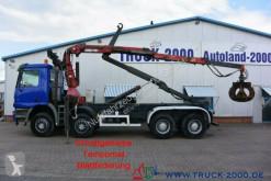 Kamión Mercedes Actros 4140 8x4 Abroller 20t. Kran 7.34m = 1.7t vozidlo s hákovým nosičom kontajnerov ojazdený