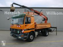 Camión Mercedes Actros 1831*Atlas 115.2 Baujahr 2010*Blatt/Blatt volquete usado