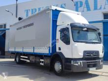 Lastbil Renault Gamme D skjutbara ridåer (flexibla skjutbara sidoväggar) begagnad