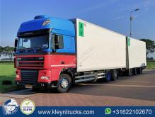 Lastbil med anhænger DAF XF105 køleskab monotemperatur brugt