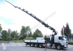 Camion plateau Volvo FM 400 8x4 Fassi F 560 XP FLY JIB Crane Kran