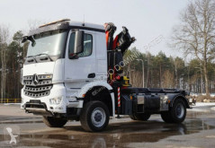 Kamión valník Mercedes 4x4 AROCS 1836 FASSI 165 NCH EURO 6 KRAN CRAN !!
